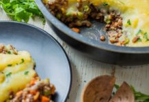 Warm and Hearty Vegan Lentil Shepherd's Pie