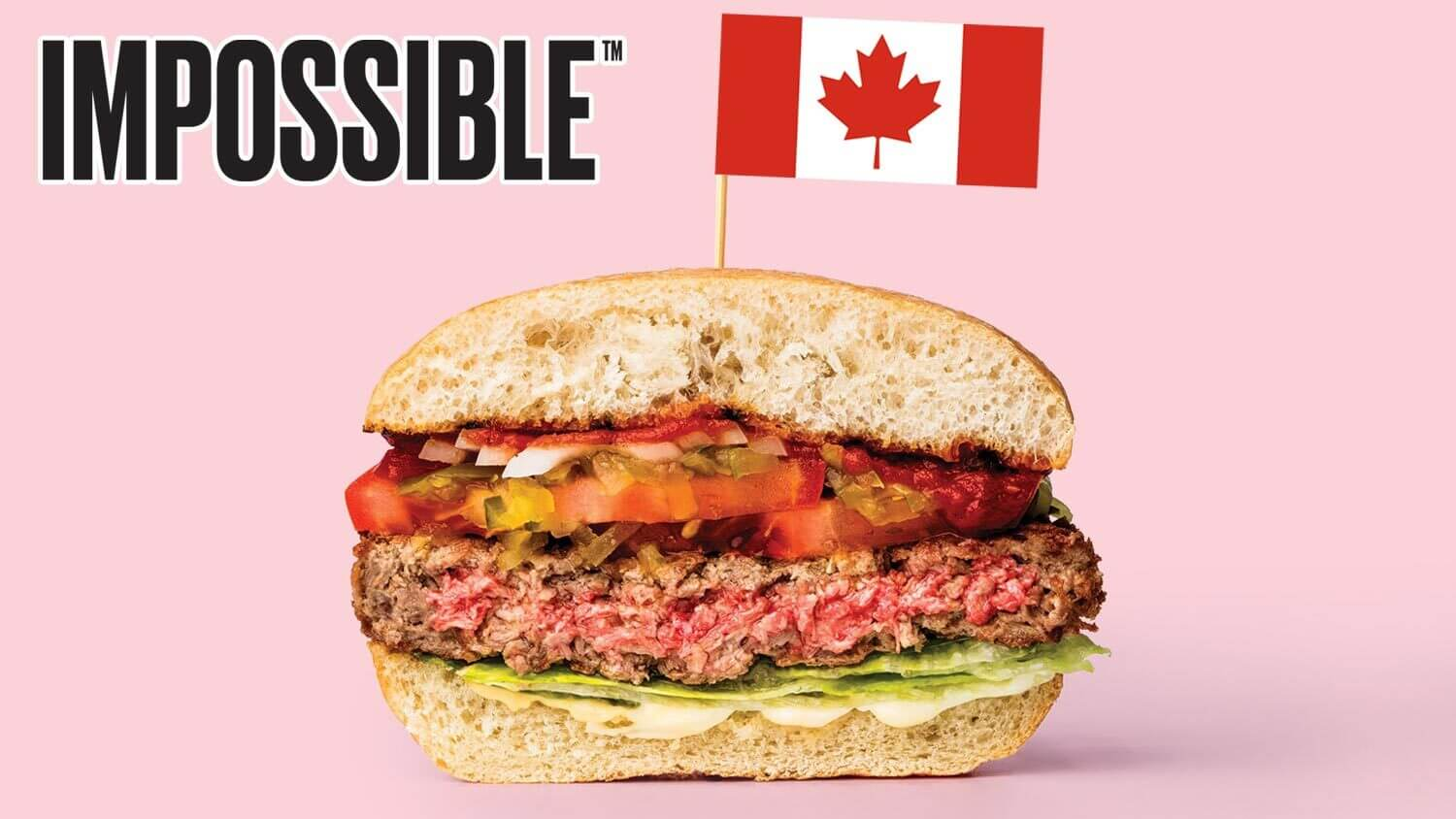 Impossible Burger Debuts in Canadian Restaurants