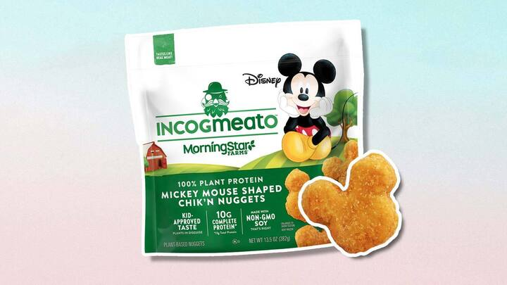 Walmart Just Launched Mickey Mouse Vegan Chicken Nuggets