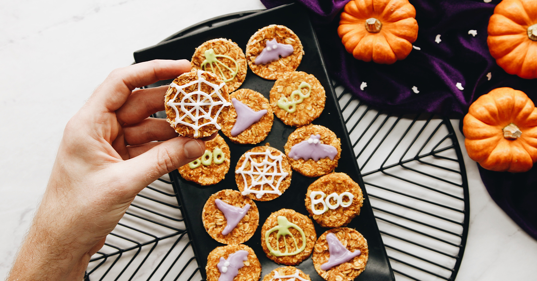 Raw & Spooky Halloween Cookies
