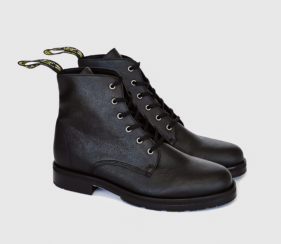 Blaze Apple Leather Ankle Boots by Good Guys Don't Wear Leather