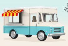 10辆最好的素食食品的卡车在美国
