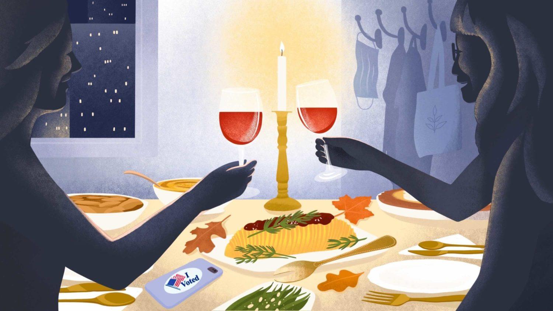 Easy Vegan Thanksgiving Dinner for Two