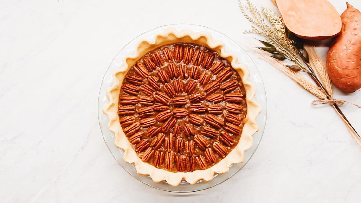 Thanksgiving Dessert: Sweet Potato Pecan Pie
