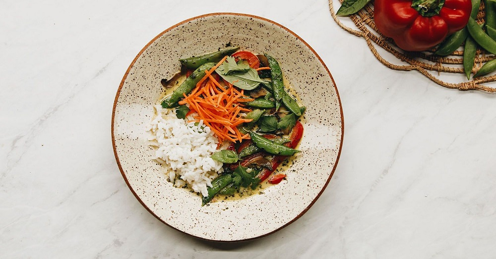 The Easiest Vegan Thai Green Curry You'll Ever Make