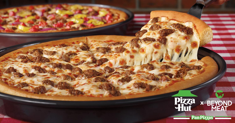 Pizza Hut Adds Vegan Sausage to the Menu