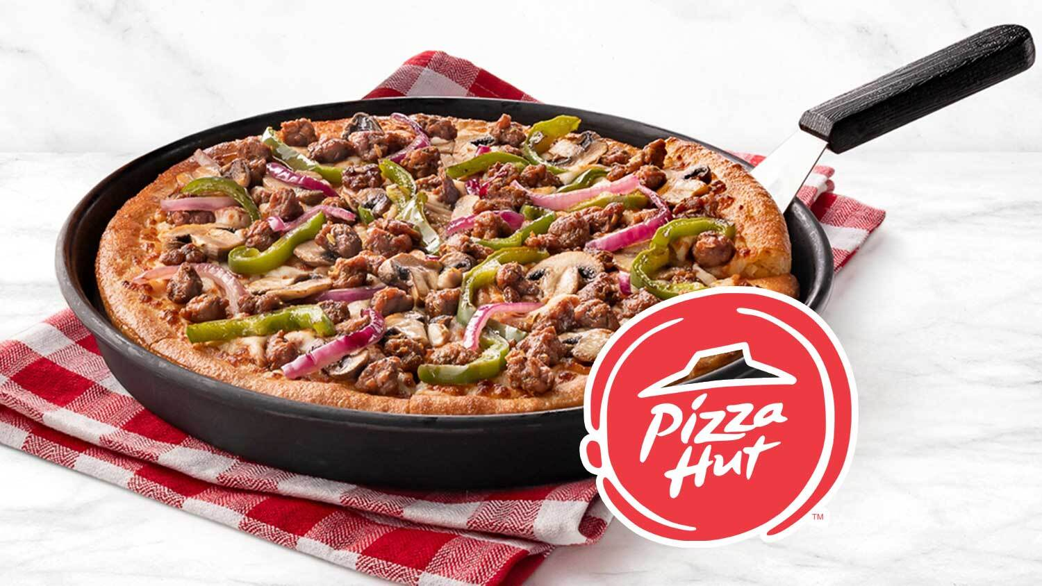 Pizza Hut UK Is Launching Vegan Meat Toppings