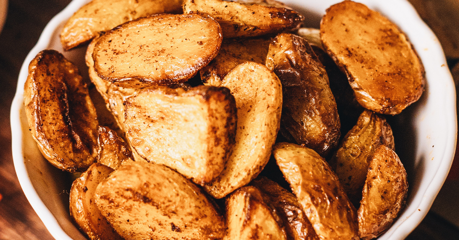 Simple, Delicious Roasted Potatoes for Thanksgiving