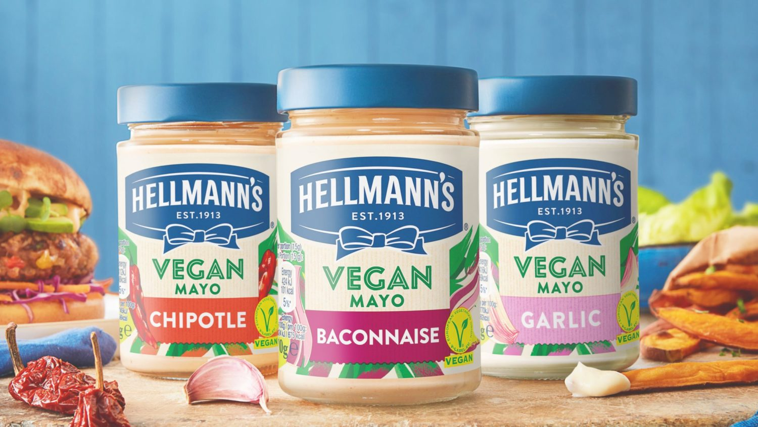 Hellmann's Just Launched Vegan Baconnaise in the UK