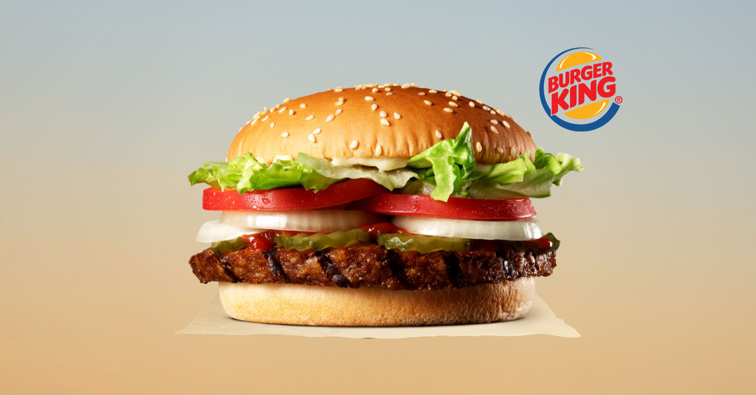 Burger King's Vegan Whoppers Launch in China and Latin America