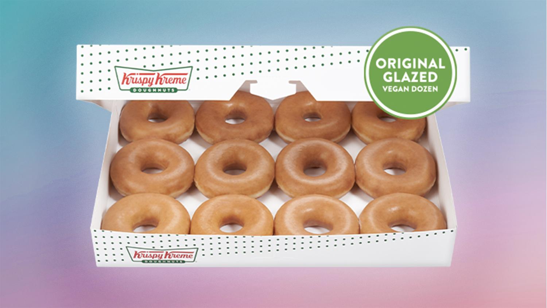 Krispy Kreme Vegan Doughnuts Have Finally Arrived
