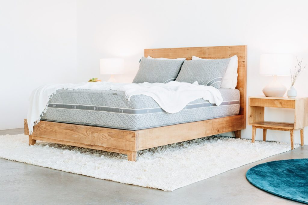 Brentwood Home makes mattresses and yoga pillows using sustainable materials, so they're good for both you and the planet.