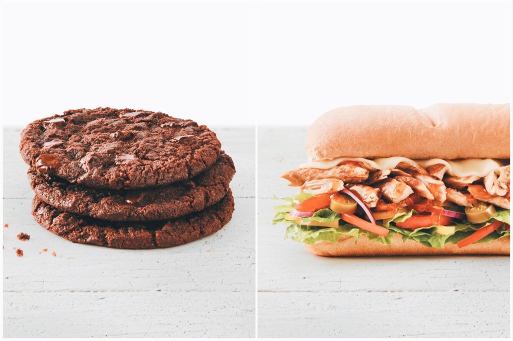 New Subway Vegan Options: Chicken Subs and Chocolate Cookies