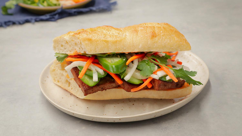 Make This Vegan Banh Mi Recipe With Tofu