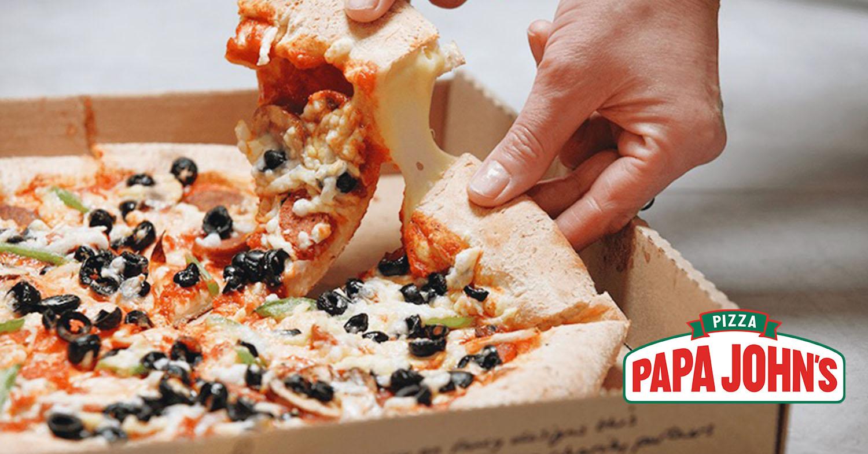 Vegan Cheese Stuffed Crust Pizza Is Launching at Papa John's