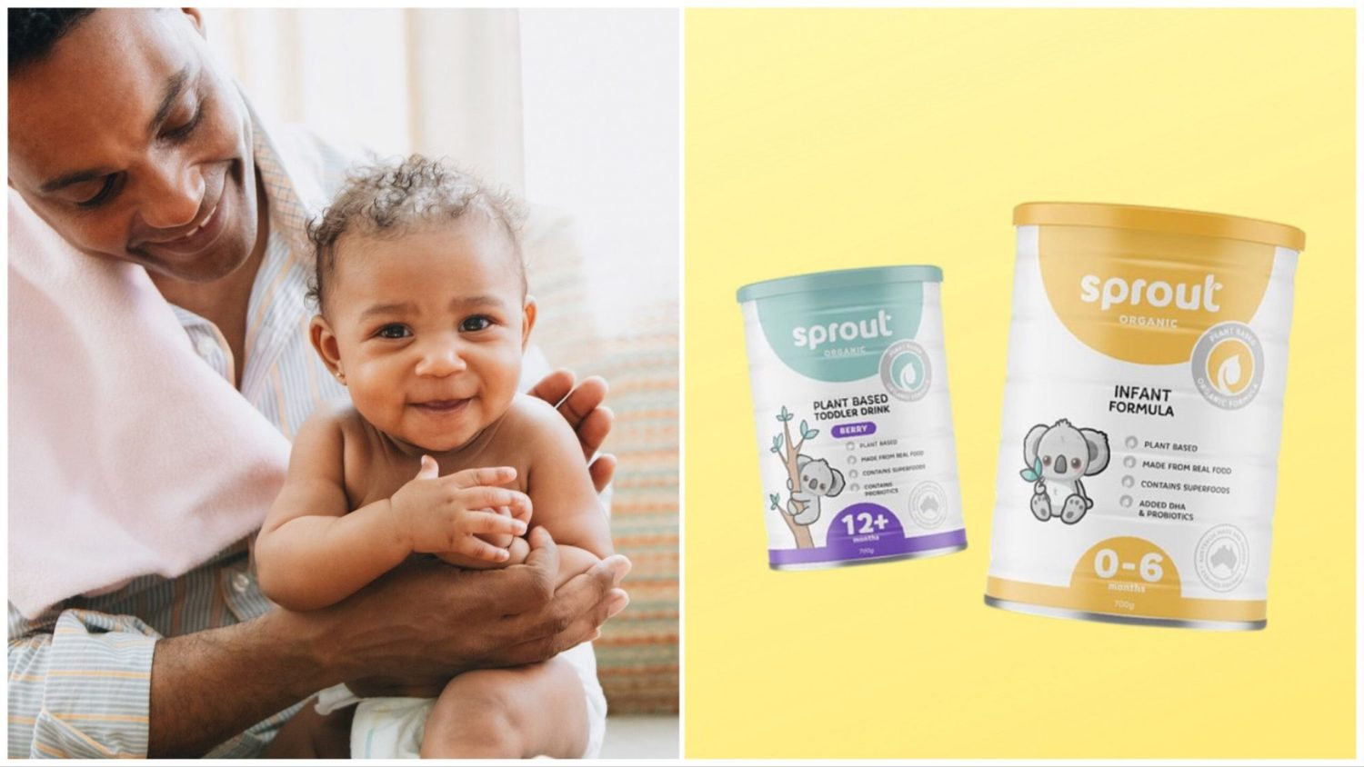 'World's First' Vegan Baby Formula Launches in Australia