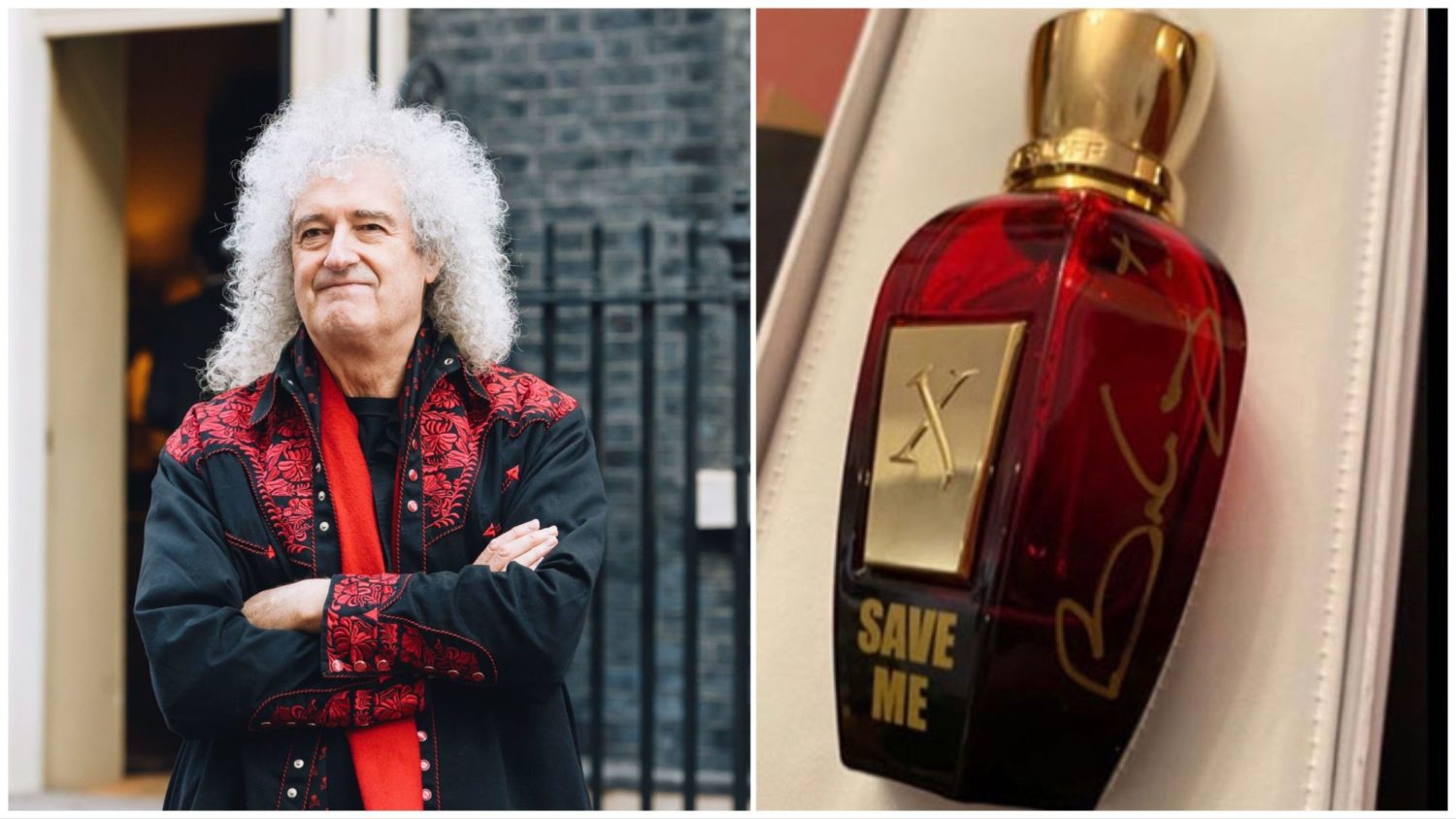 Brian May Just Launched a Vegan Fragrance to Help Save Wildlife