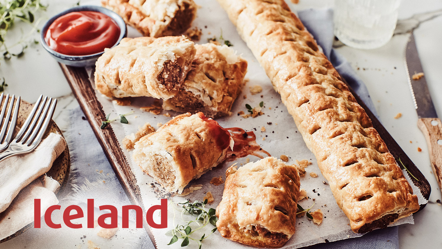 Footlong Vegan Sausage Rolls Just Launched at Iceland
