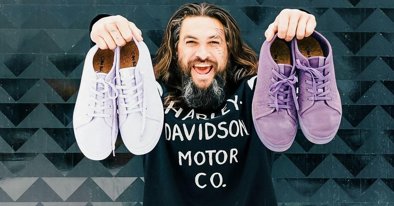 Jason Momoa's Vegan Sneaker Range Is Made From Algae