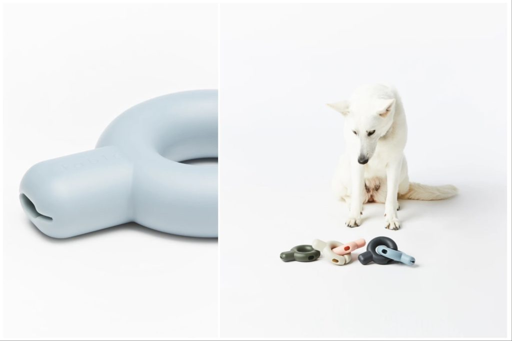 Keep your pet entertained with this treat dispensing toy.   Fable