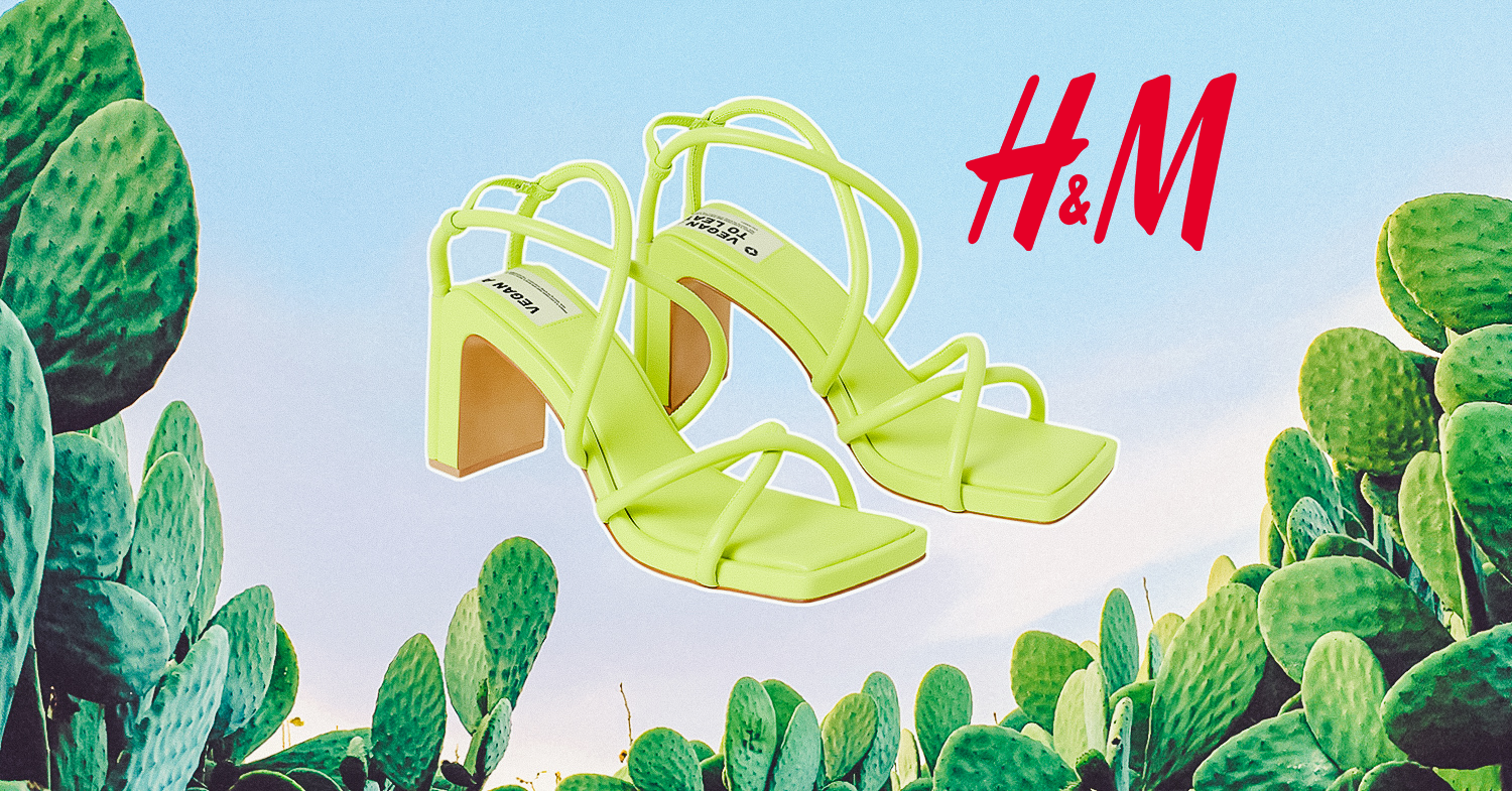 Cactus Leather Shoes Featured in H&M's New 'Conscious' Collection