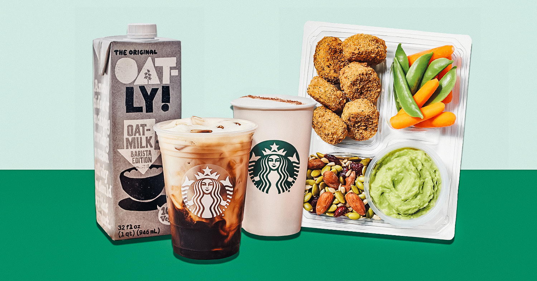 Starbucks Oat Milk Drinks Now On the Permanent Menu!