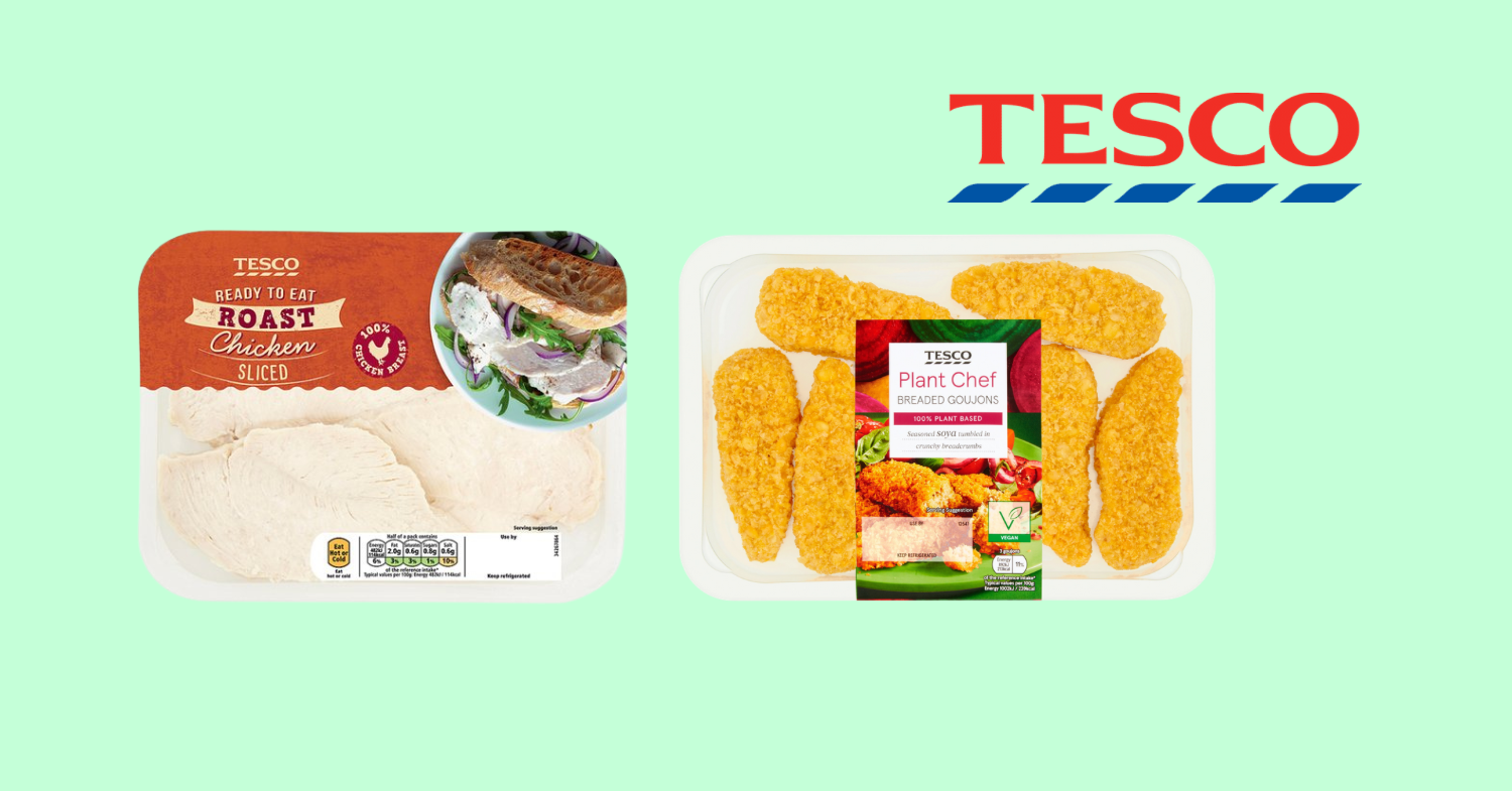 Tesco: Plant-Based Option Could Be Offered Next to Every Meat Product