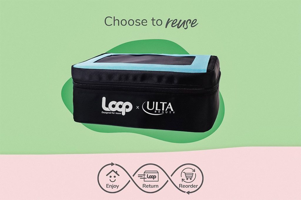 Ulta Beauty is working with Loop, a zero-waste venture owned by TerraCycle.