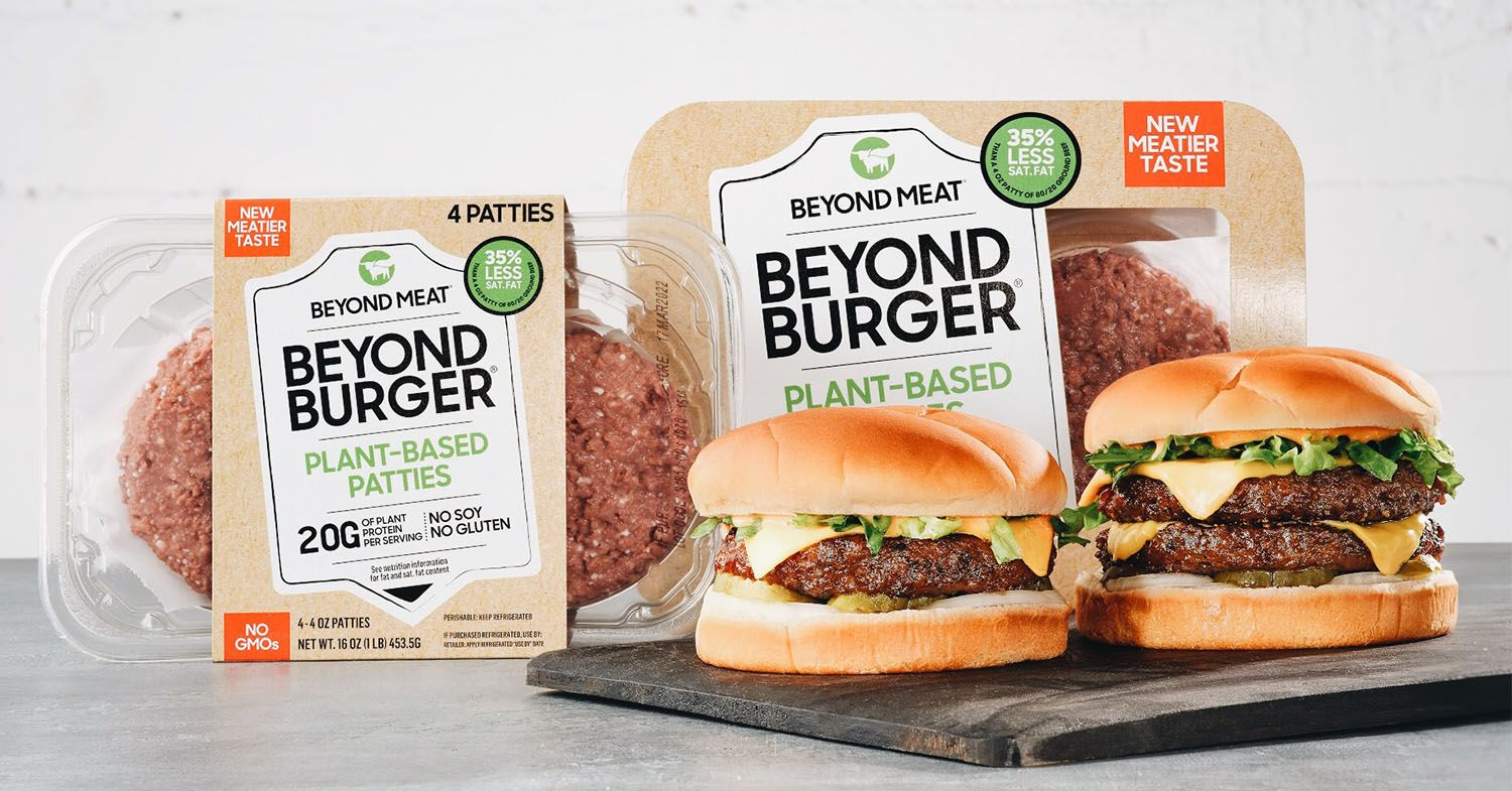 Beyond Burgers Now Contain Vitamin B12, Just Like Beef