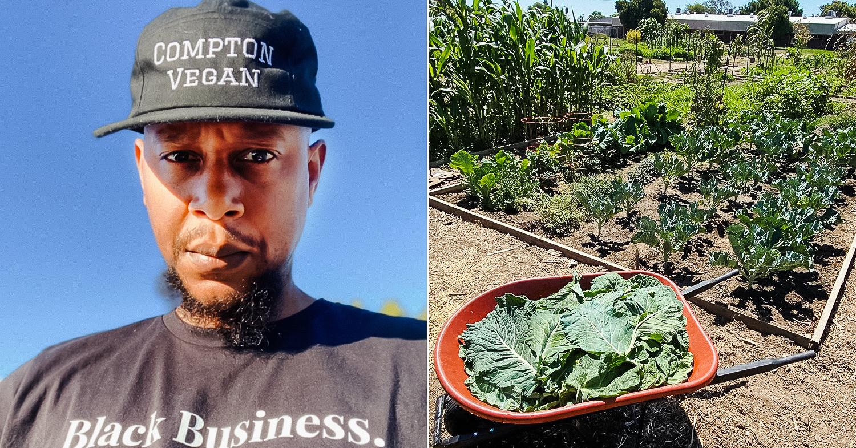 Compton Vegan's Lemel Durrah Is Serving Food and Community Education