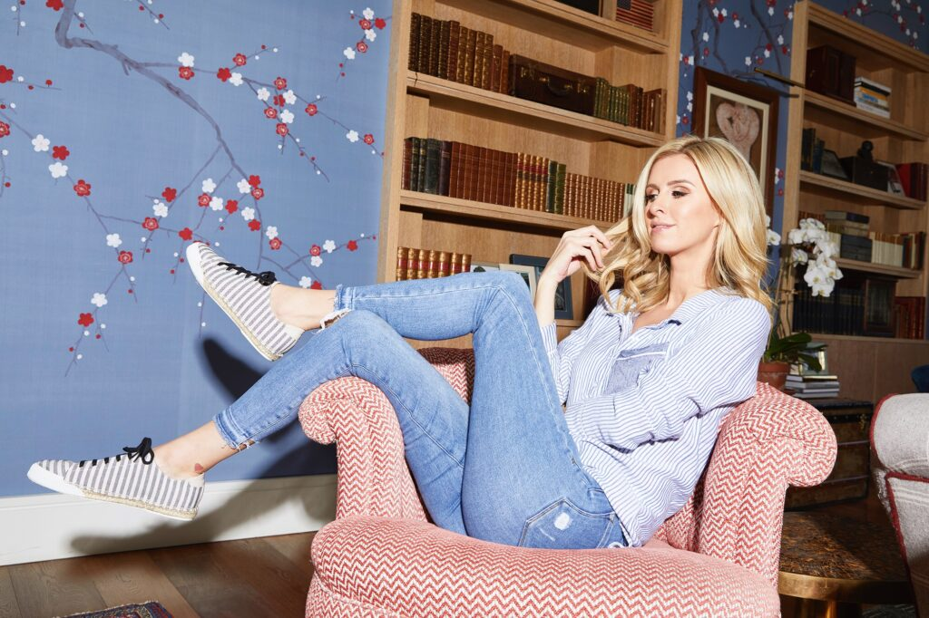 Nicky Hilton Rothschild Launches First Sustainable Vegan Shoe Line