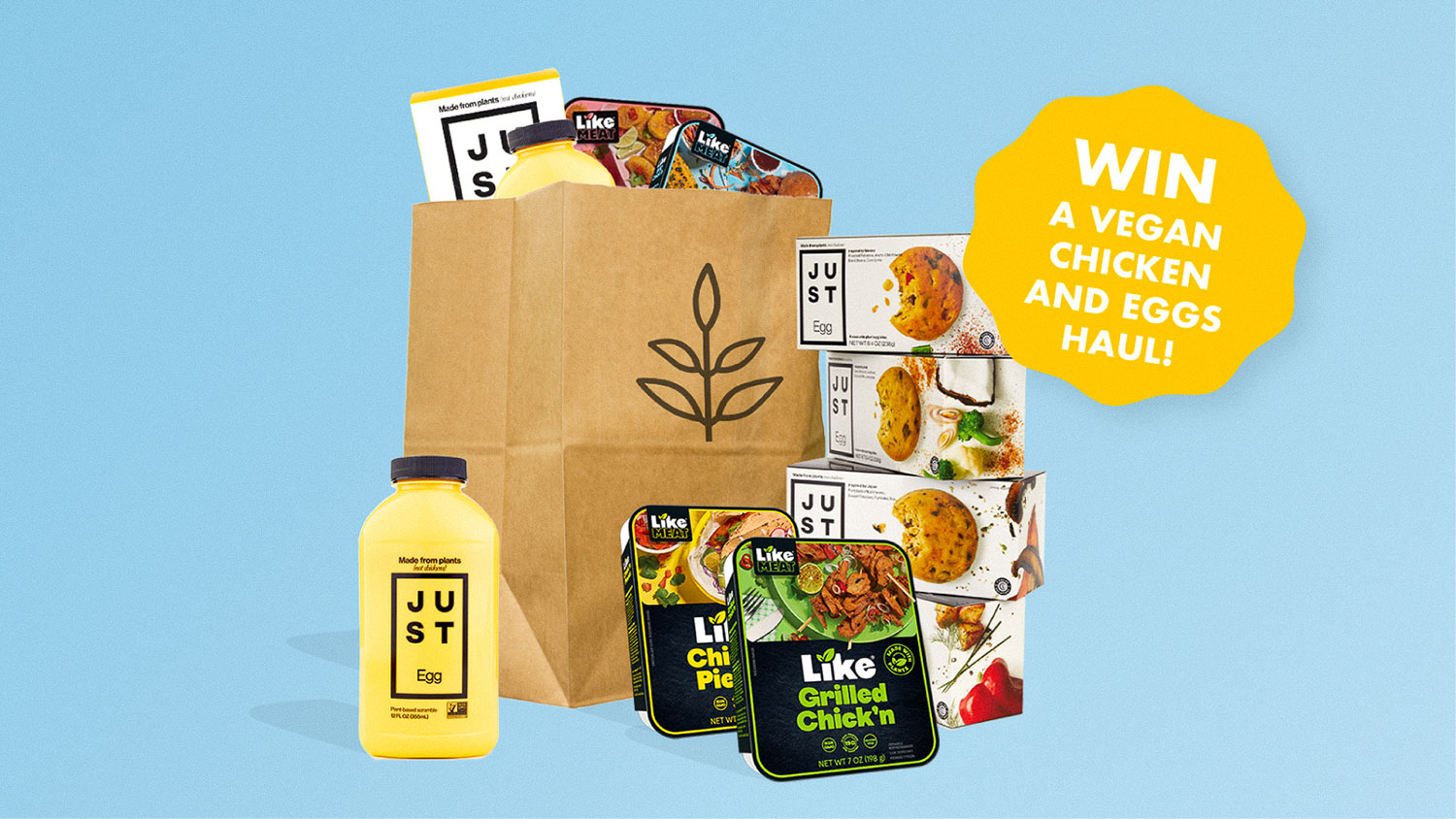 Win This: Grocery Haul of Vegan Chicken and Eggs!