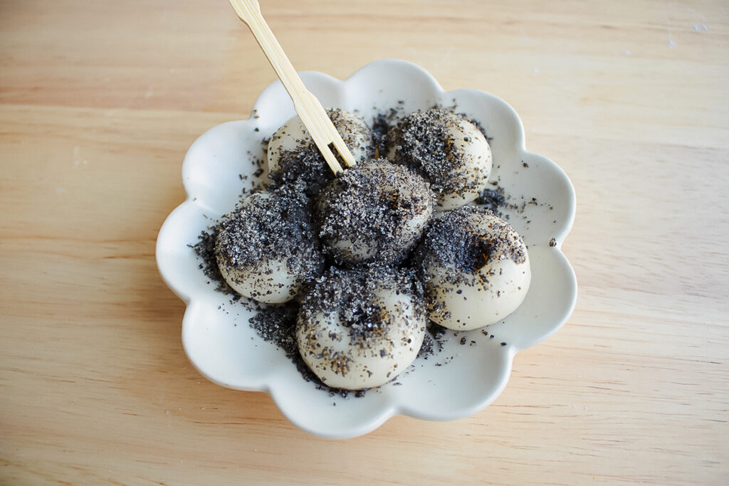 Black Sesame Seeds Spruce Up Vegan Waffles and Japanese Dango