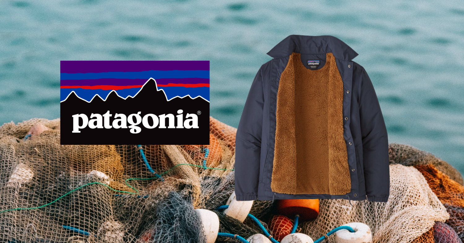 Patagonia's Latest Jackets Made From Recycled Fishing Nets