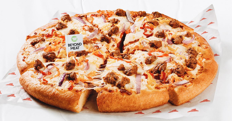 Pizza Hut Canada Adds Vegan Sausage Crumbles to the Menu