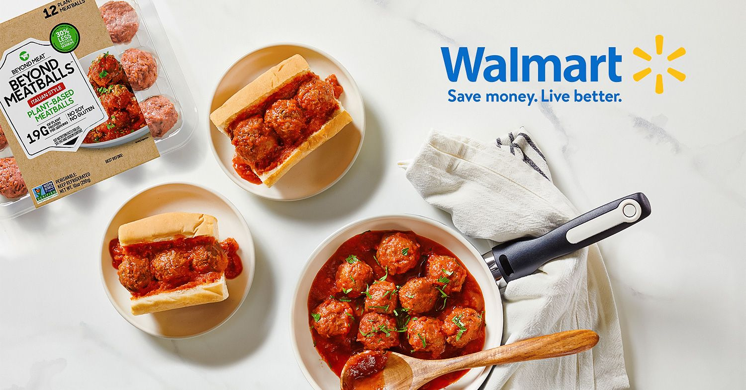 Beyond Meat's Vegan Meatballs Launching at Walmart This Summer