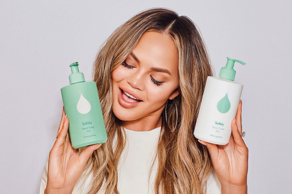 Chrissy Teigen and Kris Jenner Launch Cleaning Line, Safely. But Is It Sustainable?