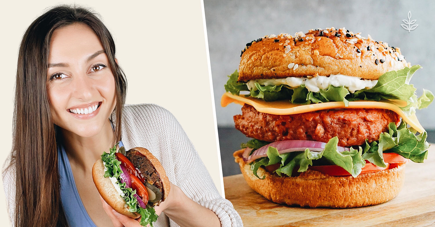 How to Make Meat-Free Burgers In 4 Minutes-or 4 Hours!