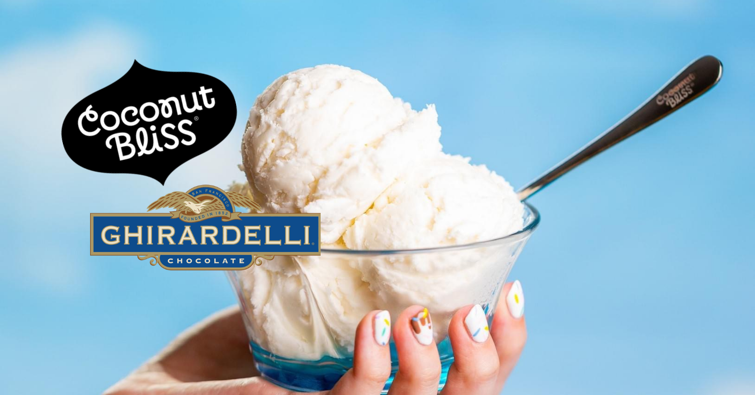 Ghirardelli Introduces Vegan Ice Cream for the First Time