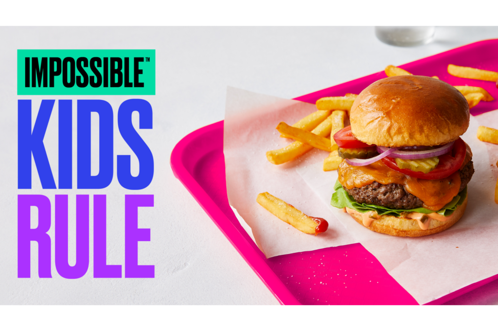 Impossible Foods' Vegan Meat Can Now Be Served for School Lunches