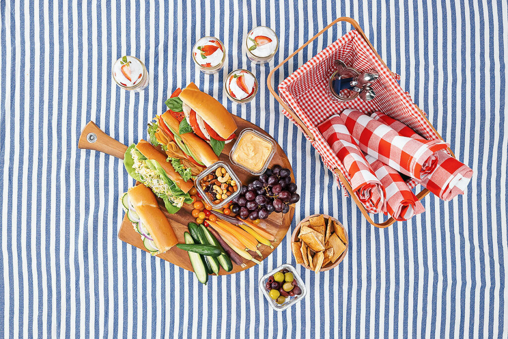 This Vegan Picnic Spread Is Summer Approved