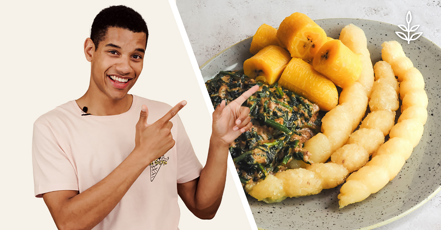 2 African Recipes Made Vegan: Miondo and Ndolé