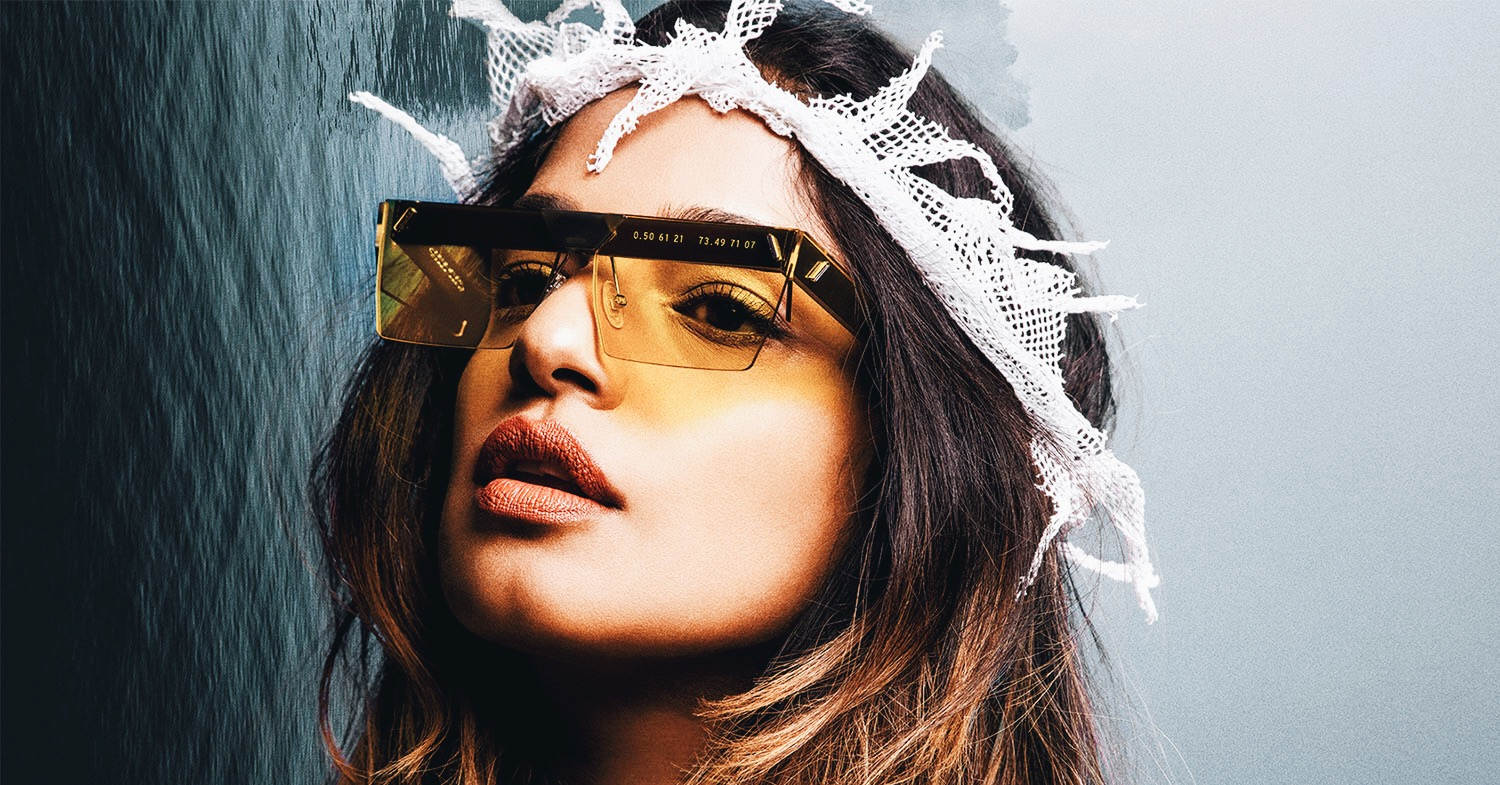 M.I.A.'s New Sustainable Sunglasses Collection Is Made From Trash