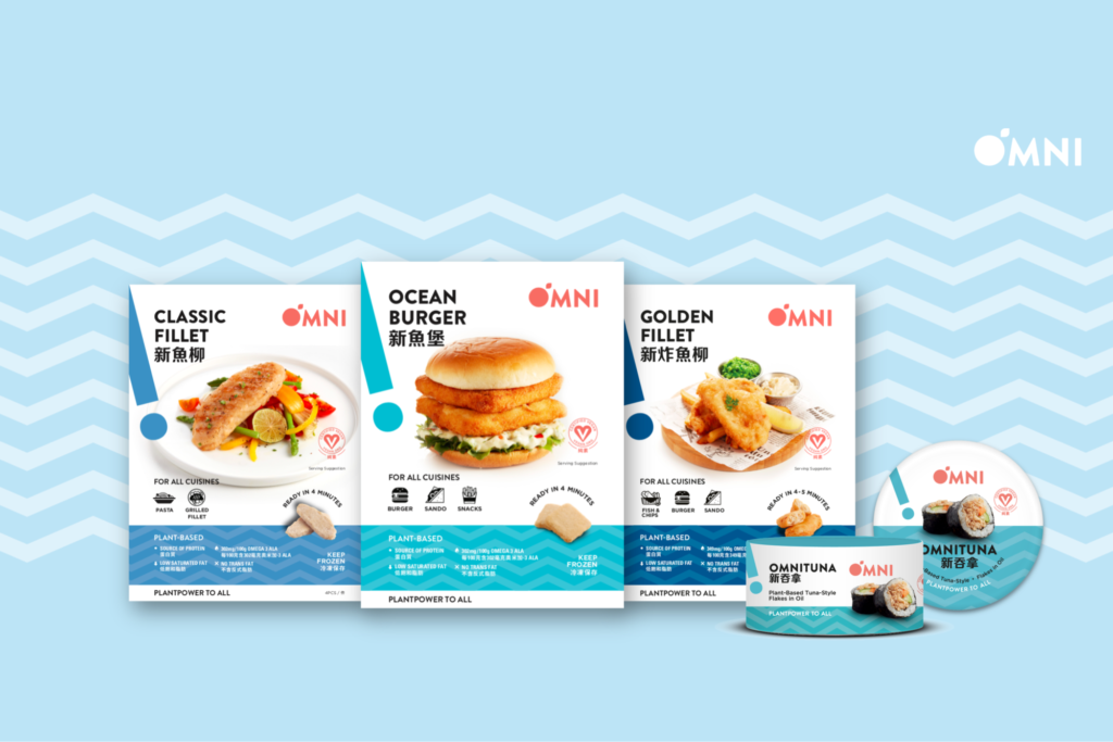 OmniFoods Is Now Serving Up Plant-Based Fish