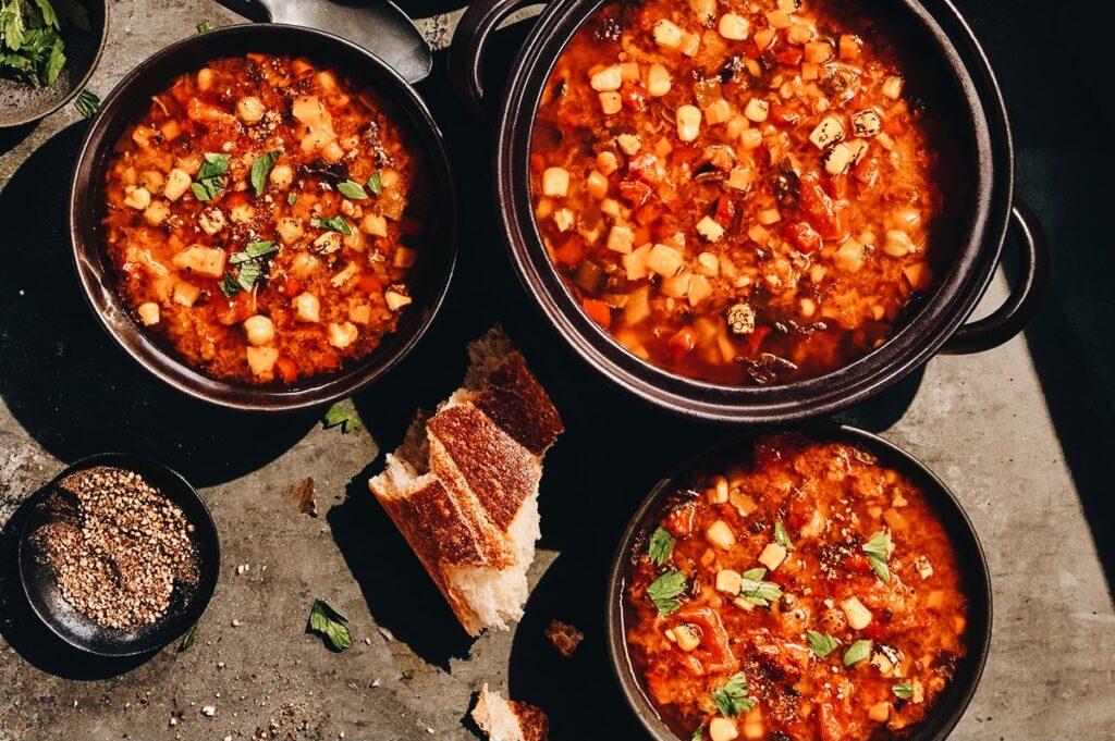 Panera's Ten Vegetable Soup