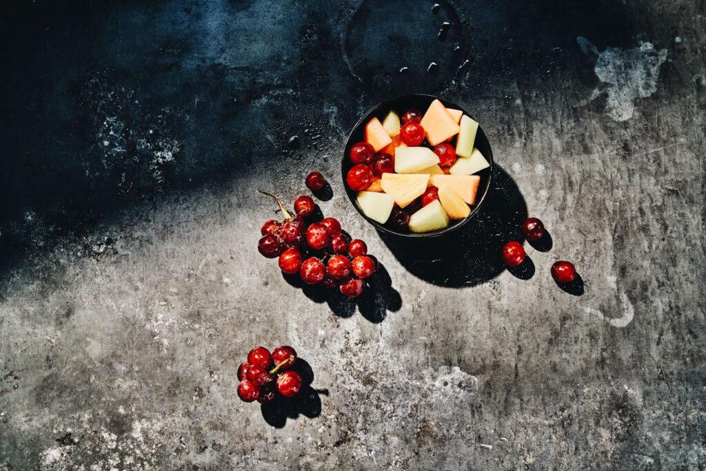 Panera Bread fruit bowl