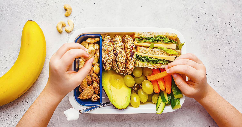 孩子们吃更多的植物性食物。这是为什么。