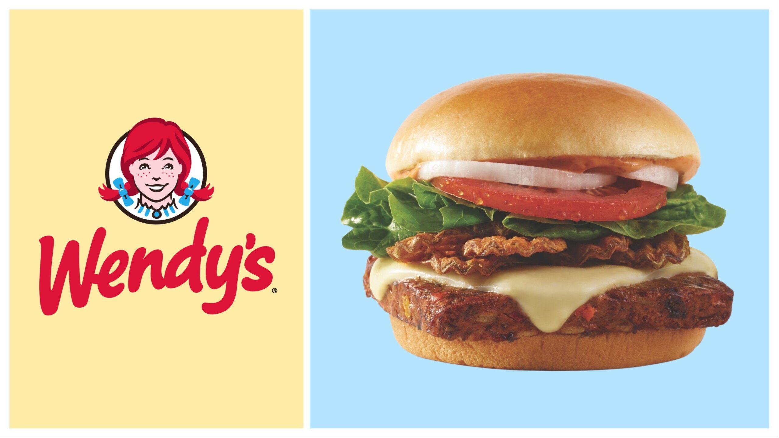 Wendy's new Spicy Black Bean Burger.