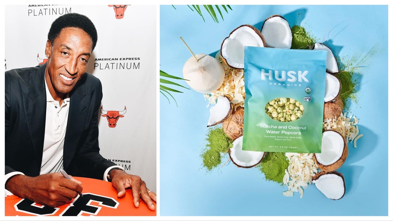 Scottie Pippen vegan popcorn brand