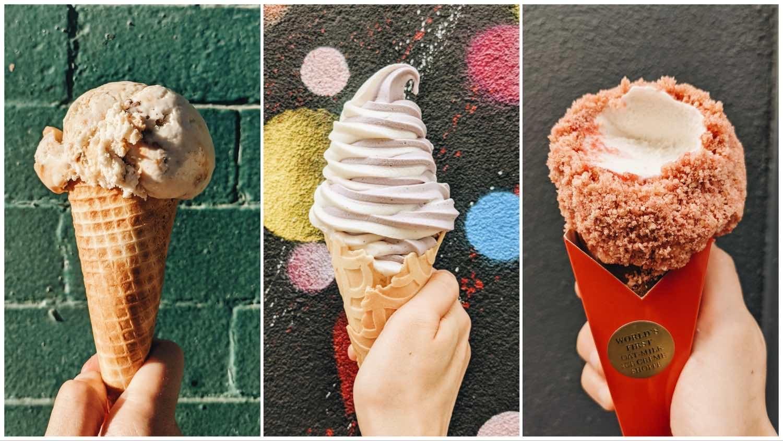 Vegan ice cream options in NYC.